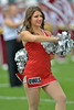 PHILADELPHIA - SEPTEMBER 14: A member of the Temple Diamond Gems dance team performs prior to the start of the football game against Fordham September 14, 2013 in Philadelphia