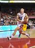 NOVEMBER 11 - PHILADELPHIA: Temple Owls guard Dalton Pepper (32) drives to the basket on a fast break during the NCAA basketball game against Kent State November 11, 2013 in Philadelphia