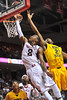 NOVEMBER 11 - PHILADELPHIA: Temple Owls guard Will Cummings (2) puts up a contested shot in the lane during the NCAA basketball game against Kent State November 11, 2013 in Philadelphia