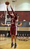 PHILADELPHIA - DECEMBER 4: St. Joseph's (PA) Hawks guard Natasha Cloud (4) puts up a jumper in a Big 5 basketball game December 4, 2013 in Philadelphia.