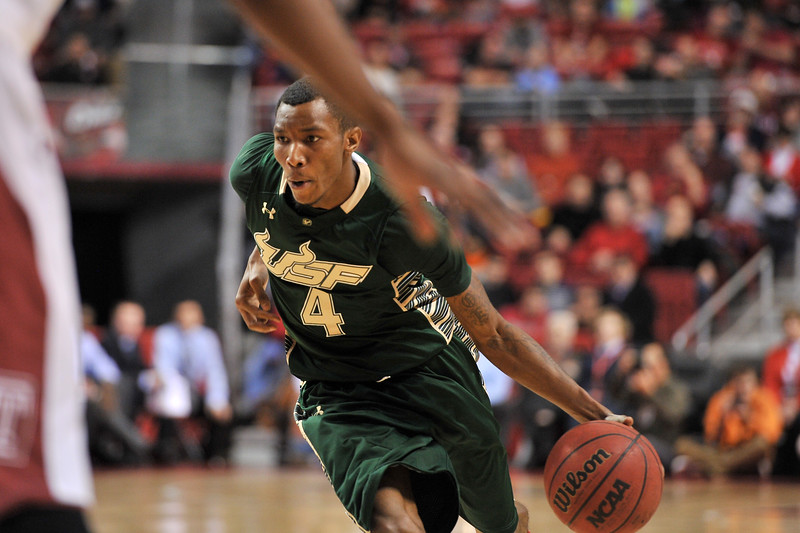 NCAA Basketball 2014 - USF Bulls at Temple Owls