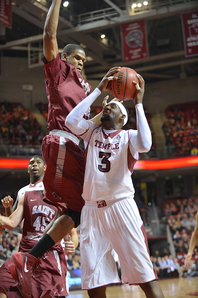 NCAA Basketball 2013 - St. Joseph's Hawks  at Temple Owls