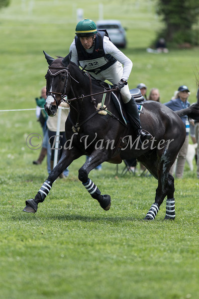 Glenfly with Marcelo Tosi up in the Land Rover Kentucky 3 Day Event. 04.27.2019