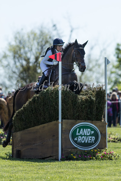 Harbour Pilot with Hannah Sue Burnett up in the Land Rover Kentucky 3 Day Event. 04.27.2019