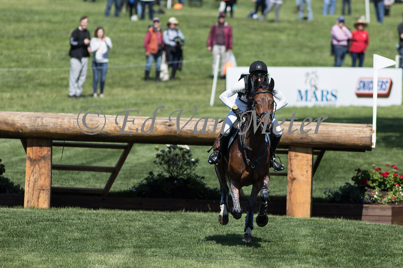Colero with Felix Vogg up in the Land Rover Kentucky 3 Day Event. 04.27.2019