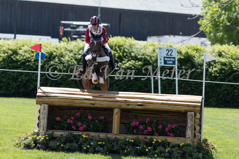 Honor Me with Lisa Marie Fergusson up in the Land Rover Kentucky 3 Day Event. 04.27.2019
