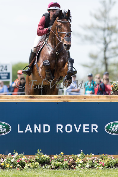 Bolytair B with Dominic Schramm up in the Land Rover Kentucky 3 Day Event. 04.27.2019