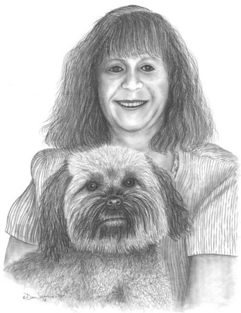 "2004:  ""Woman and Her Dog"""