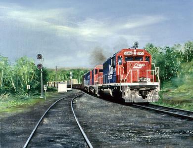 "1983:  ""DWP, Minorca Junction"""