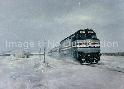 "1982:  ""Amtrak, End of the Run"", Superior WI.  From photos I shot when I knew the Amtrak run from the Twin Cities to Superior was over."