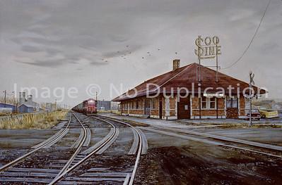 "1981:  ""Soo Line Depot"", Superior WI."