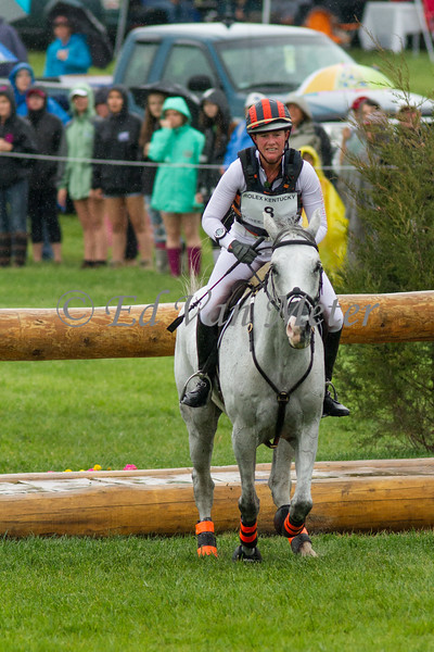 Landmark's Monte Carlo and Lauren Kieffer in The Rolex Kentucky Three Day Event at The Kentucky Horse Park. 04.30.2016