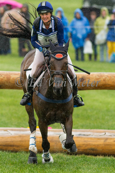 Courage Under Fire and Kathrine Coleman in The Rolex Kentucky Three Day Event at The Kentucky Horse Park. 04.30.2016
