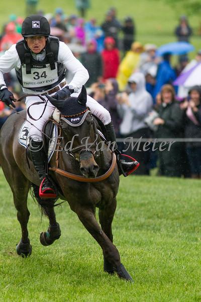 Fischerrocana FST and Michael Jung in The Rolex Kentucky Three Day Event at The Kentucky Horse Park. 04.30.2016