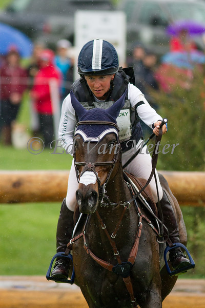Novelle and Angela Grzywinski in The Rolex Kentucky Three Day Event at The Kentucky Horse Park. 04.30.2016