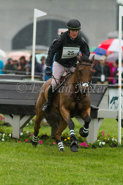 Doesn't Play Fair and Maya Black in The Rolex Kentucky Three Day Event at The Kentucky Horse Park. 04.30.2016