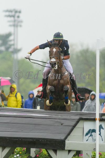 Madison Park and Kyle Carter in The Rolex Kentucky Three Day Event at The Kentucky Horse Park. 04.30.2016