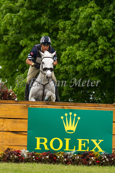 Cracker Jack with Boyd Martin up in the Rolex Kentucky 3 Day Event. 04.29.2017