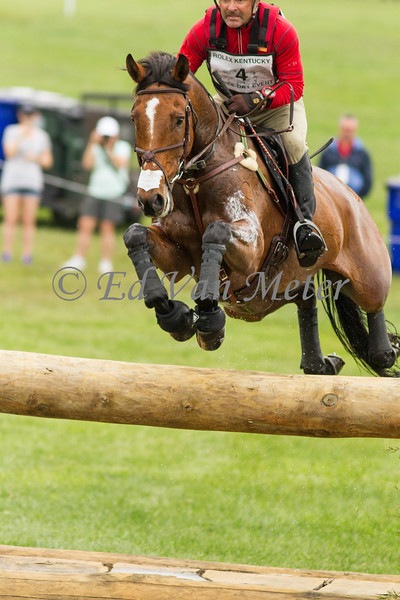 Clip Clop with Joe Meyer up in the Rolex Kentucky 3 Day Event. 04.29.2017