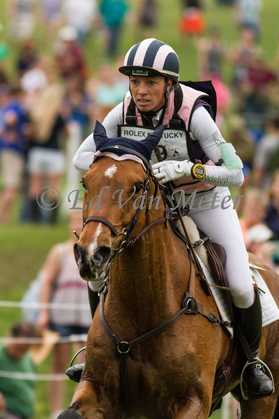 Ballylaffin Bracken with Kristen Schmoise up in the Rolex Kentucky 3 Day Event. 04.29.2017