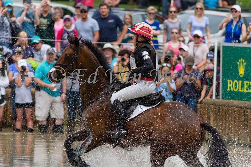 Captain Jack with Savannah Fulton up in the Rolex Kentucky 3 Day Event. 04.29.2017