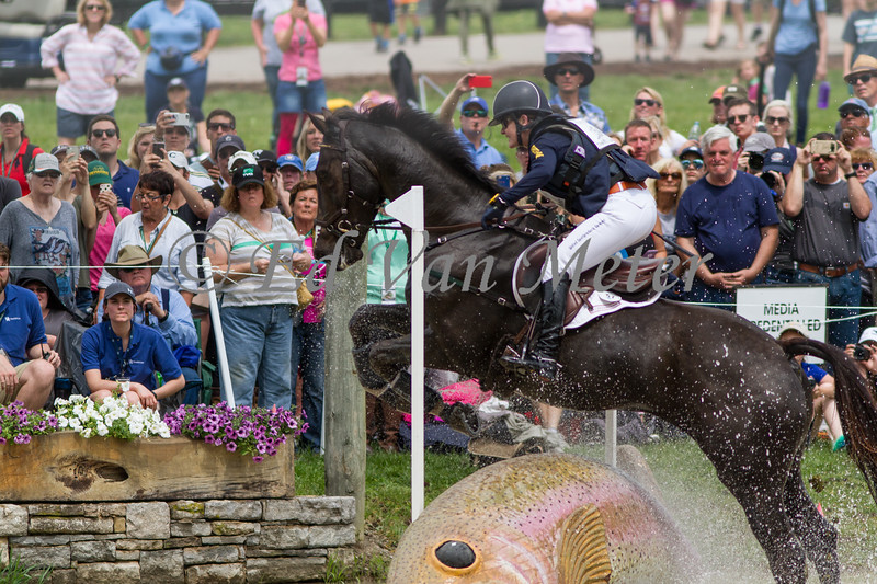 Cooley Cross Border with Kim Severson up in the Rolex Kentucky 3 Day Event. 04.29.2017