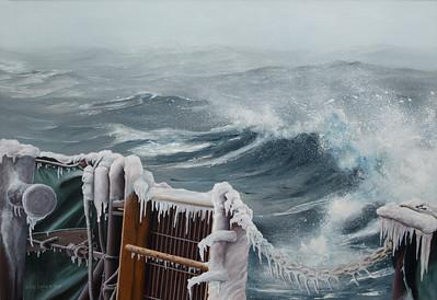 "1991:  ""Backwash"" . . . Aboard the MV STEWART J. CORT; December 23, 1990"