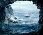 """""""Sea Cave, Lake Superior"""""""