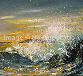 "2013:  ""Sunset"", Acrylics"
