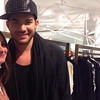Adam in London's Selfridge's on Oxford Street, May 27<br /> <br /> FIRST LONDON PIC