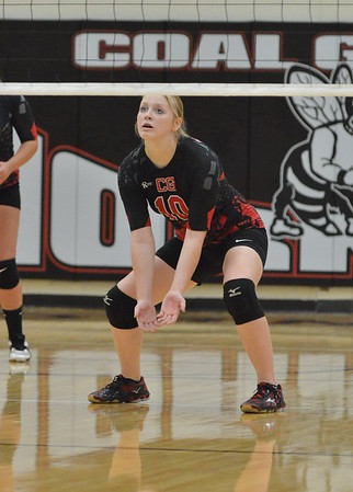 Rock Hill at Coal Grove VB 9-29-2015