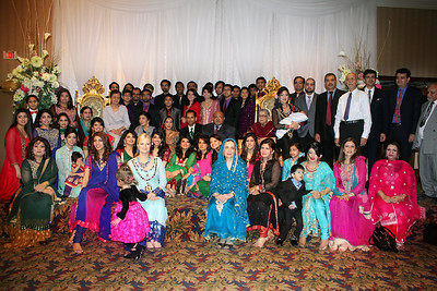 Fahad and Iffat with Guests
