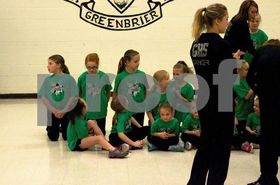 Junior Show Stoppers @ Greenbrier / Harpeth BB Game 2013