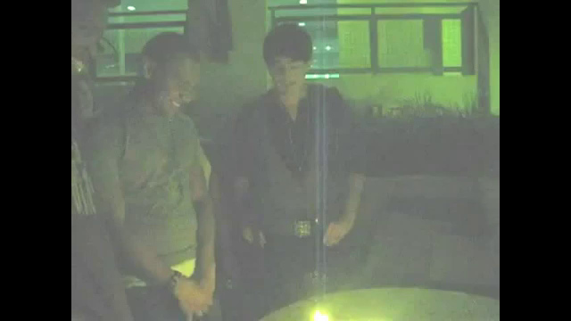 Adam Lambert singing Happy Birthday to Terence