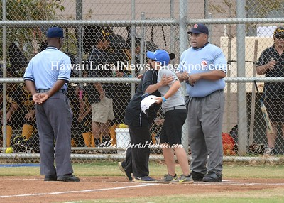 03-28-15 Moanalua Na Menehune Varsity Girls Softball vs McKinley Tigers