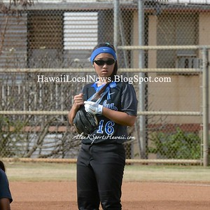 04-04-15 Moanalua Na Menehune Varsity Girls vs Castle Knights