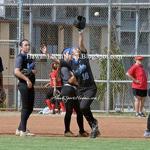 04-11-15 Moanalua Na Menehune Varsity Girls Softball vs Roosevelt (3-0)