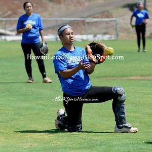 05-05-15 Moanalua Na Menehune Varsity Girls Softball vs Leilehua Mules (3-6).