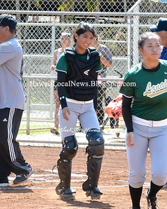 05-13-15 2014-2015 HHSAA D-II Girls Softball - Lanai Pinelesses vs KS-Hawaii (4-8)
