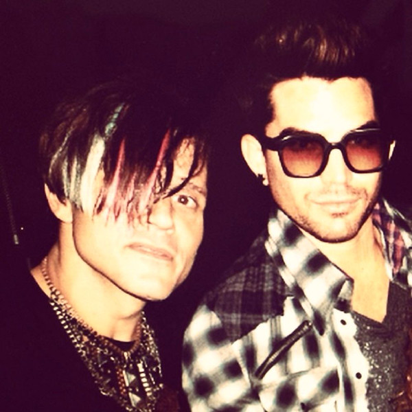 "THROW BACK THURSDAY, ENHANCED PIC<br /> <br /> carynokey<br /> Sept 11<br /> Come on; gimme ur glasses @adamlambert #adamlambert #CaryNoKey #TBT<br /> <br /> <a href=""http://instagram.com/p/s0vad6jjfN/"">http://instagram.com/p/s0vad6jjfN/</a>"