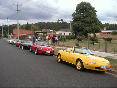 North Tassie runs - January 2009