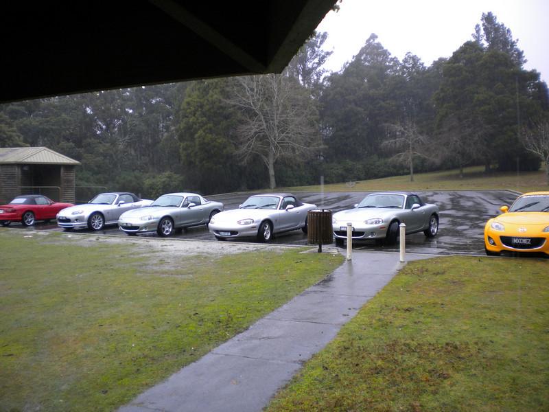 Raining in Tassie ... who knew?
