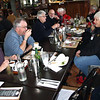 Lunch at Boat Harbour: (l-r) Scott Park, Michael Nolan, Roger Lehman, Peter & Jill Steer, Keith Tillack, Sandra Tillack and Cheryl Murray