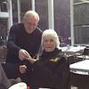 Keith Tillack presents Cheryl Murray with her 5-year membership badge