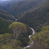Leven River from the canyon-top lookout
