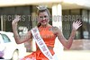 Miss Heart of the South Regan Ringler waves to the crowd on Monday, June 20, 2016, while riding in the Miss Mississippi Pageant Parade down Washington Street in downtown Vicksburg, Miss.