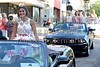 Miss William Carey University Madison Peyton poses for a picture on Monday, June 20, 2016, while riding in the Miss Mississippi Pageant Parade down Washington Street in downtown Vicksburg, Miss.