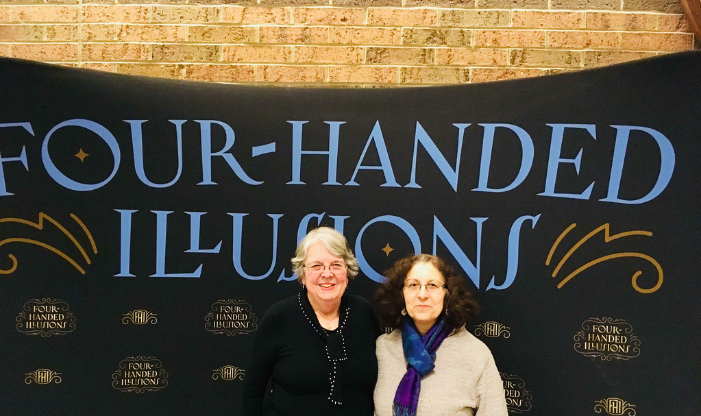 . Patti Mason and Roseann Vardaro, both of Westford