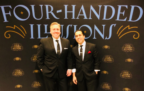 . Four-Handed Illusionists Steve Kradolfer and Joel Acevedo