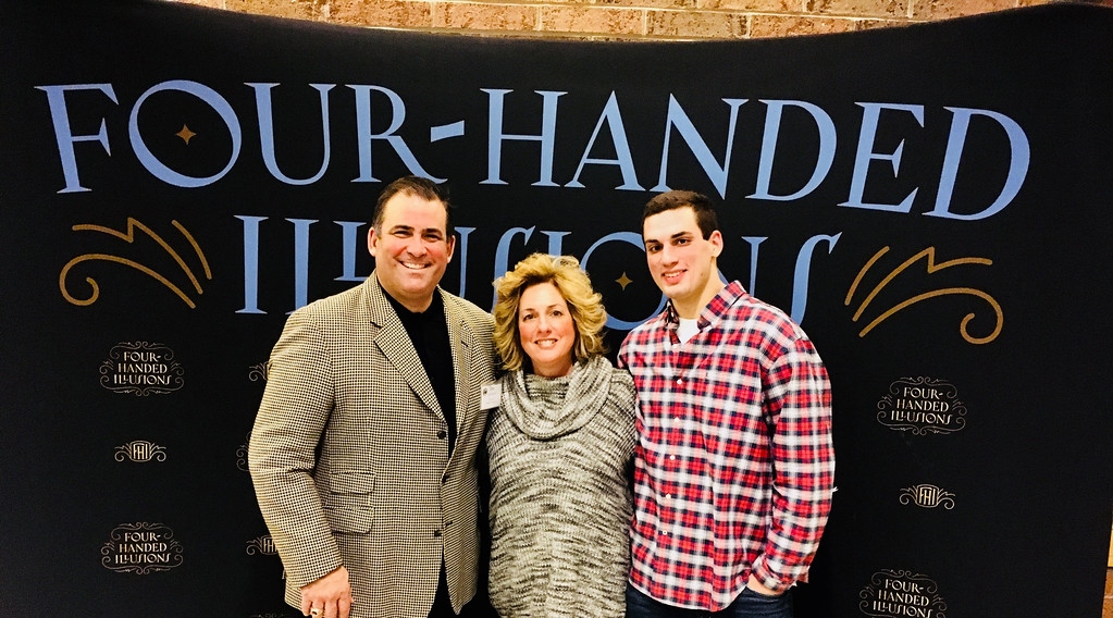 . Westford Academy Principal James Antonelli, wife Maretta and son James, all of Westford